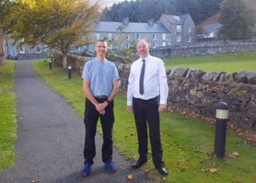 New Chief Constable attends Welsh course in Nant Gwrtheyrn